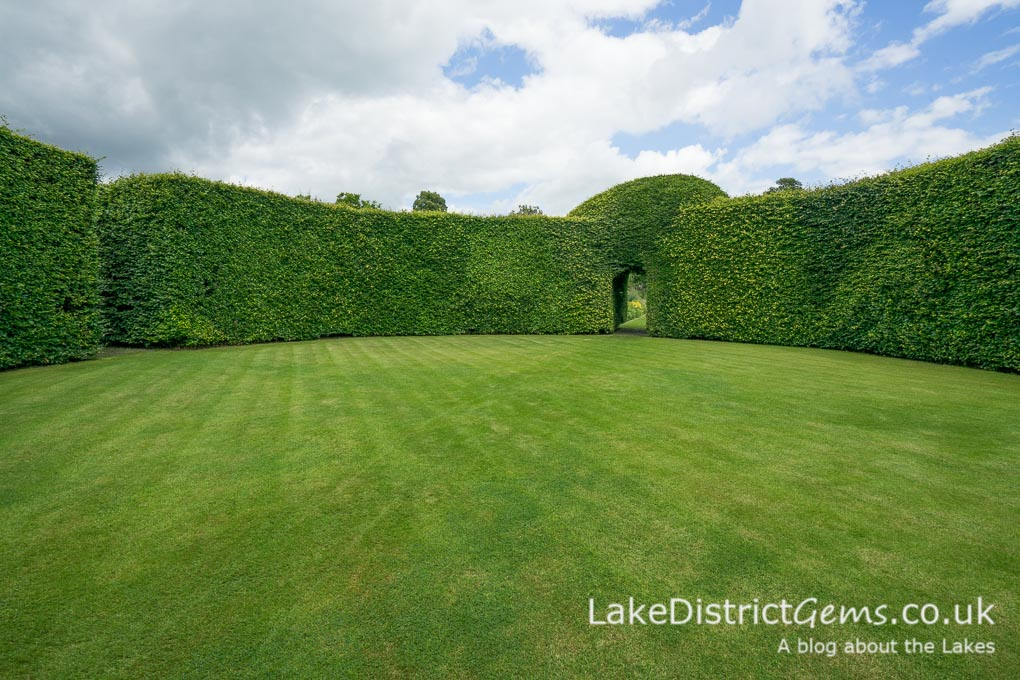 The Beech Circle at Levens Hall