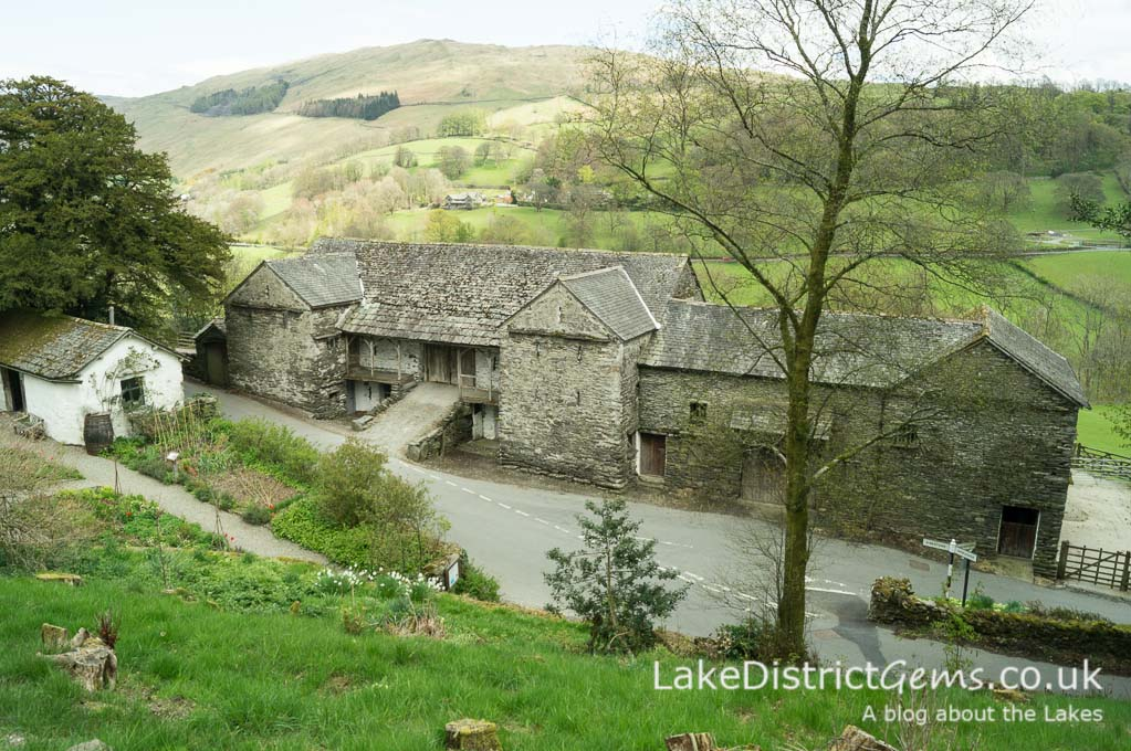 Barn in Troutbeck valley