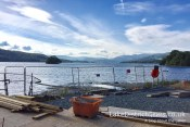 View along Windermere from the Windermere Jetty