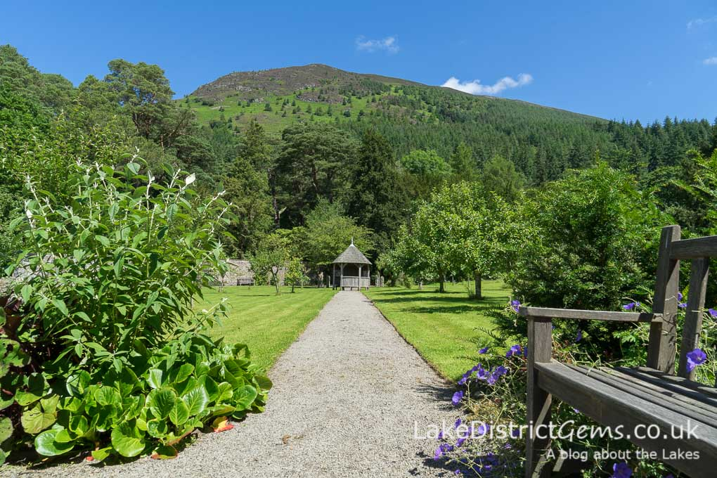 The bee garden at Mirehouse, Bassenthwaite
