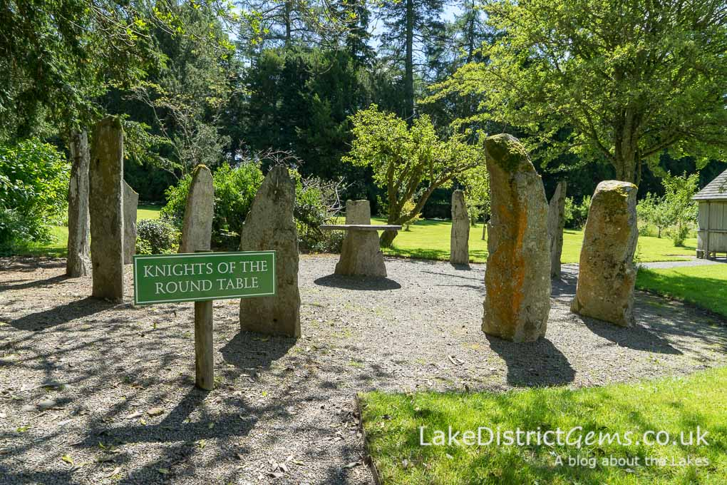 Knights of the Round Table stone circle at Mirehouse