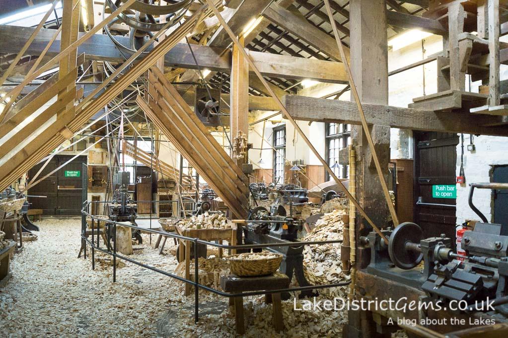On a tour of Stott Park Bobbin Mill