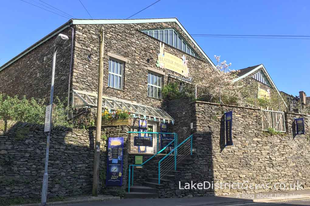 The World of Beatrix Potter exhibition in Bowness-on-Windermere