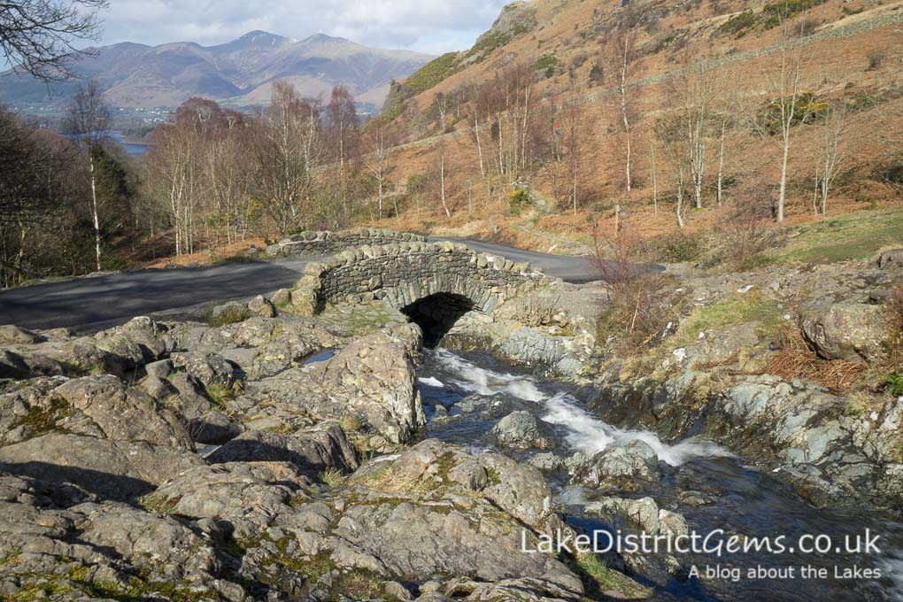 Ashness Bridge near Derwentwater
