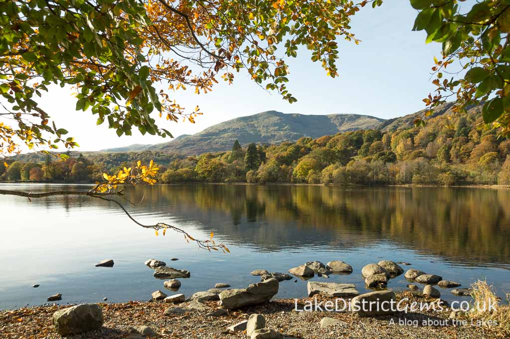 The quiet bay next to the Monk Coniston car park