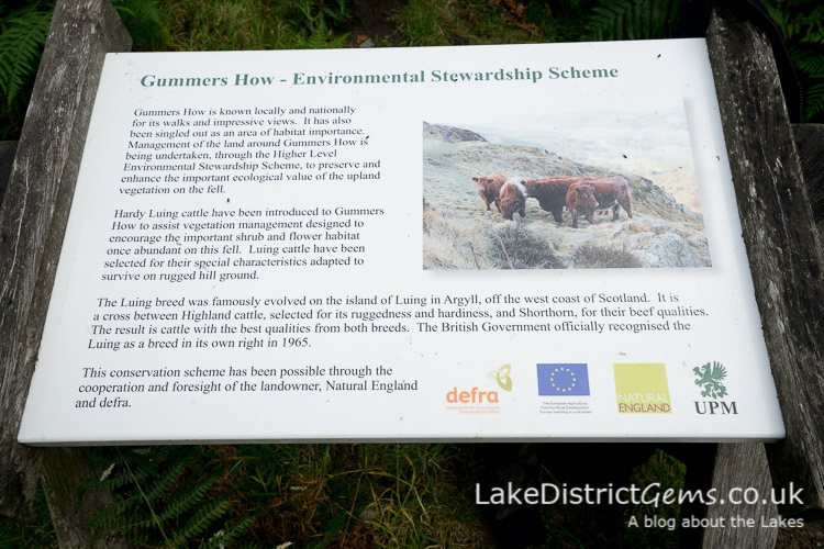 Gummer's How Environmental Stewardship Scheme sign