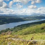 Looking north over Windermere from Gummer's How