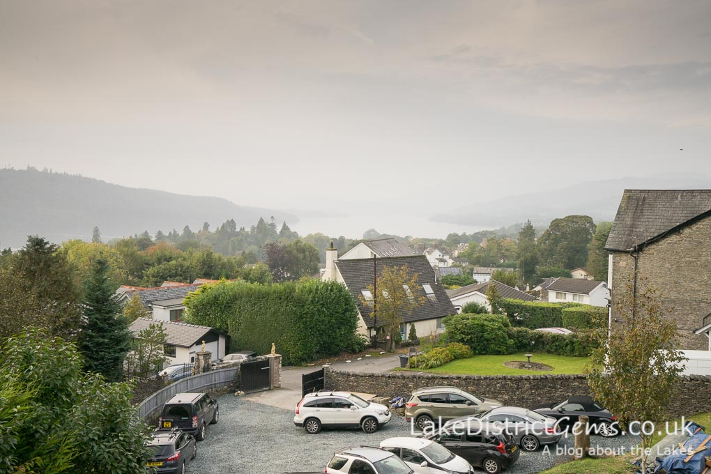 View from the Domehouse, Bowness-on-Windermere