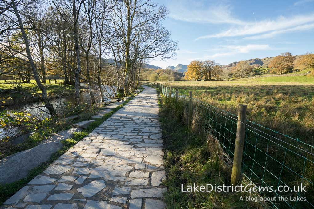 Heading back towards Elterwater village from the lake