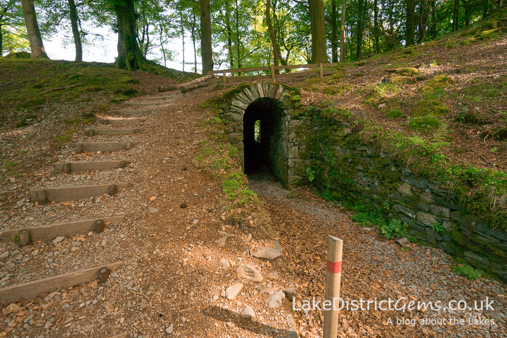 The tunnel at Allan Bank