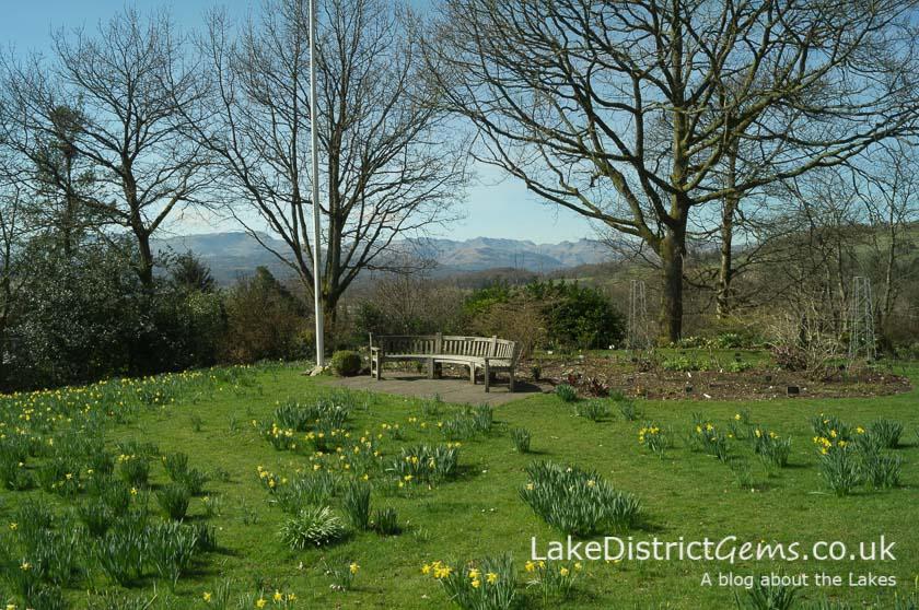 Holehird Gardens near Windermere