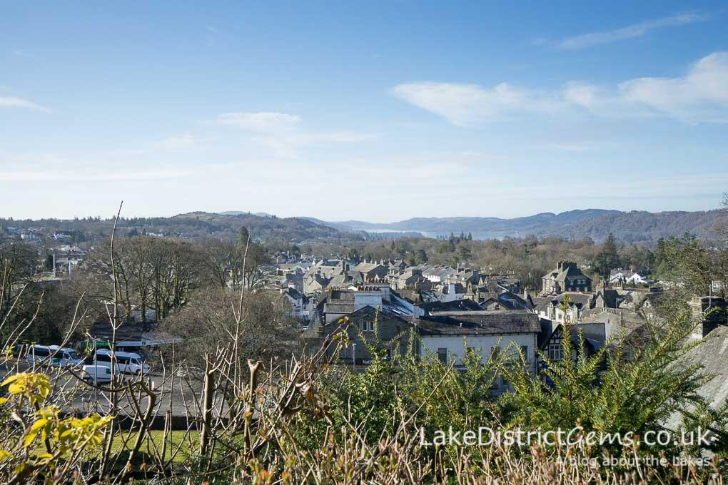 View over Windermere village
