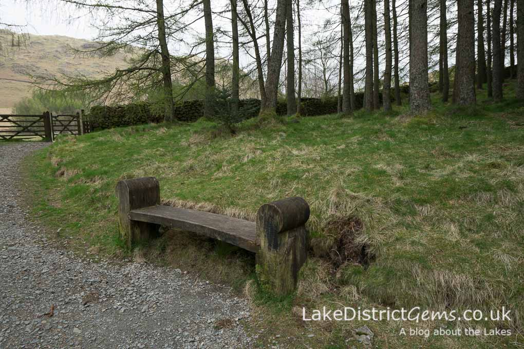 Bench at Blea Tarn