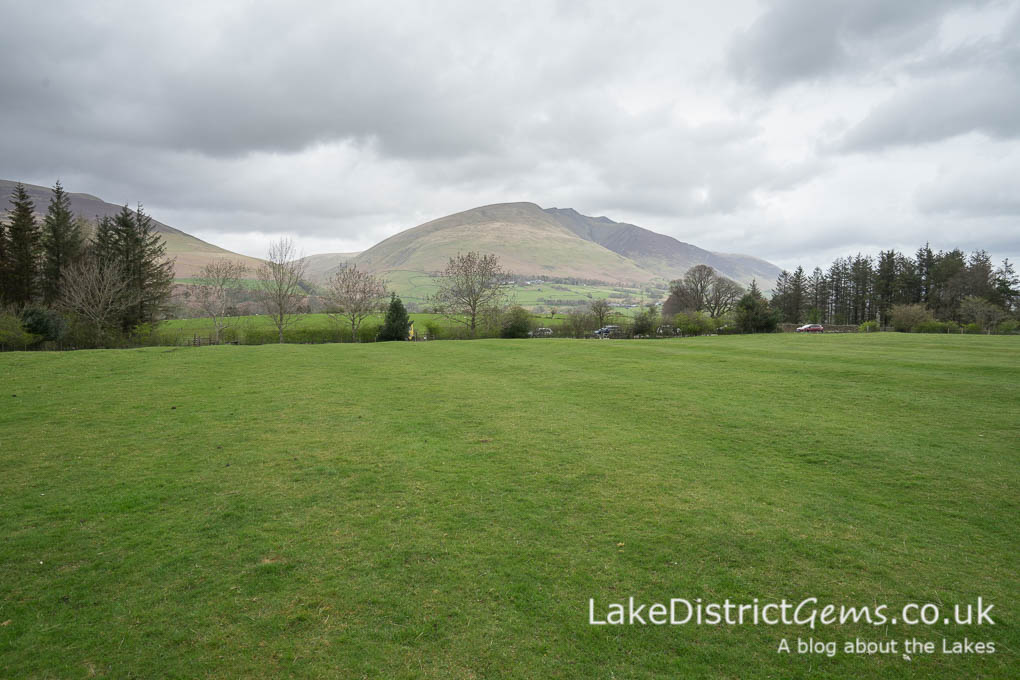 Castlerigg Stone Circle field and parking