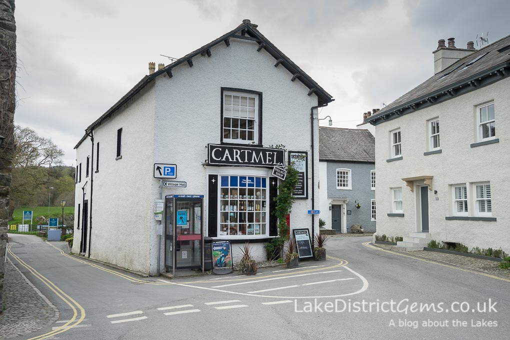 Cartmel Village Shop in the centre of Cartmel