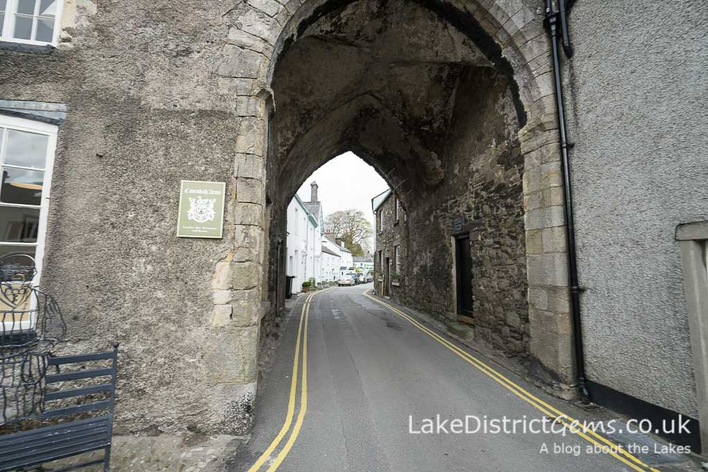 Archway in Cartmel