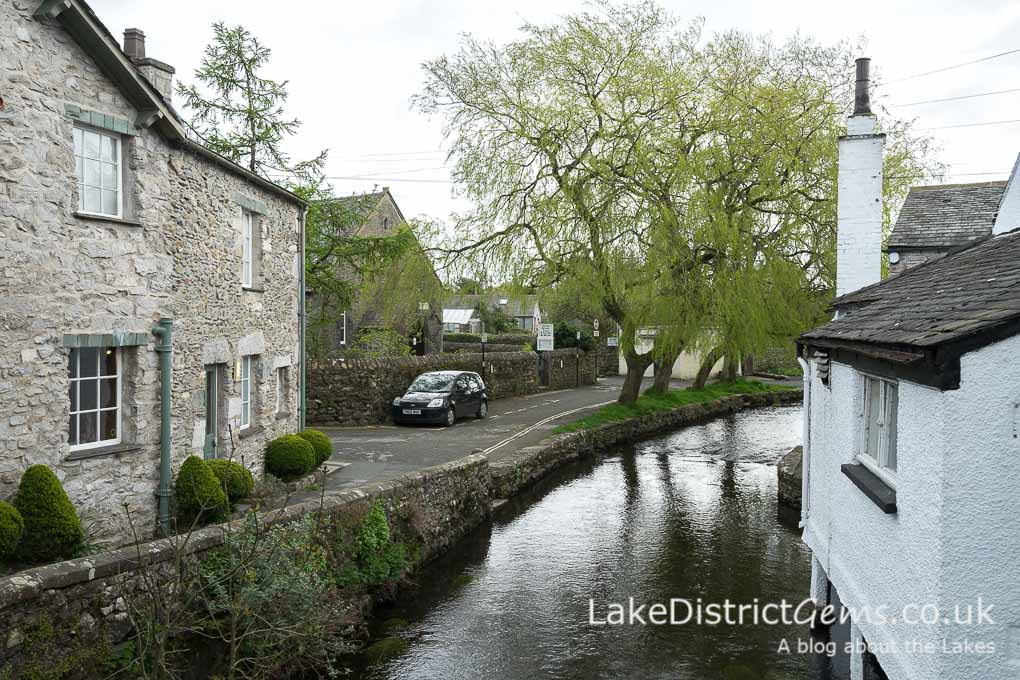 The river in Cartmel