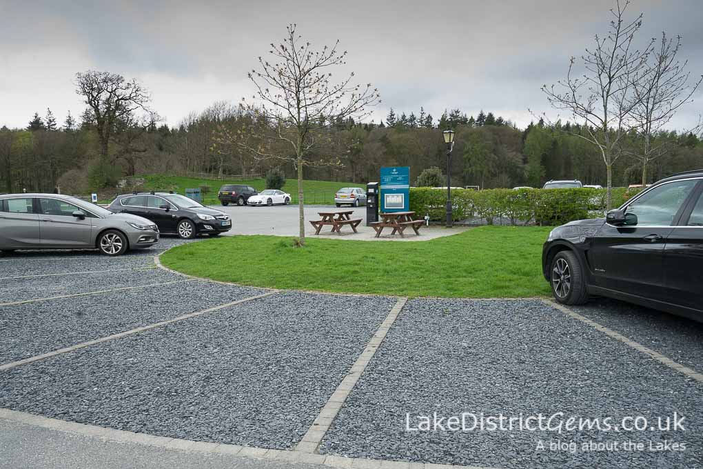 Cartmel pay-and-display car park