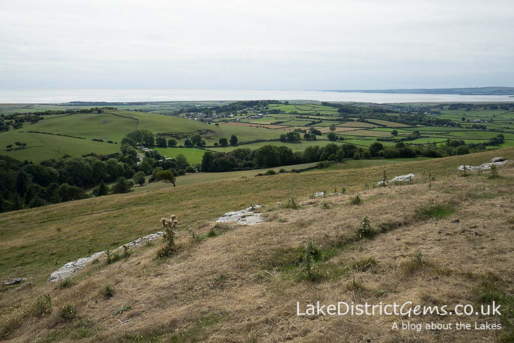 The view from the Hampsfell walk