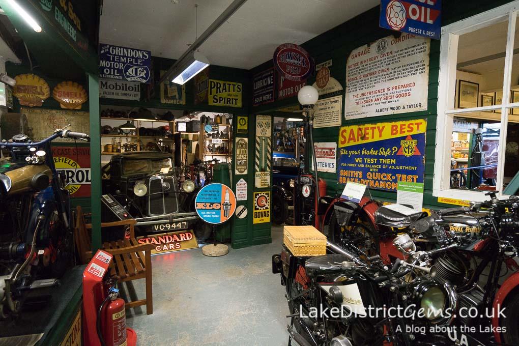 Exhibit at the Lakeland Motor Museum