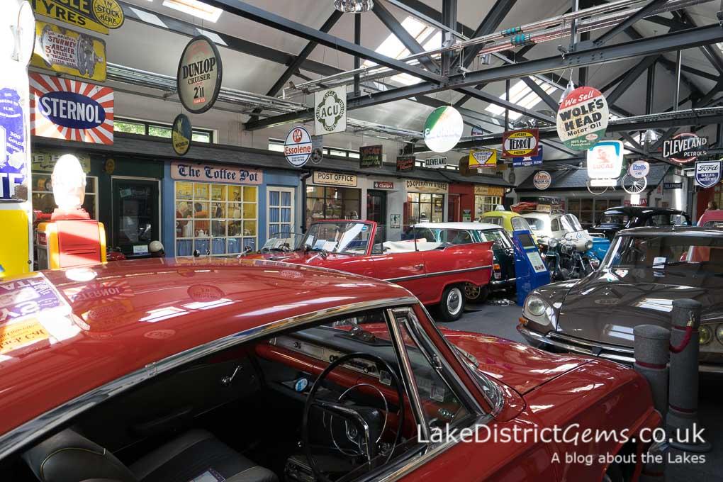 Cars at the Lakeland Motor Museum