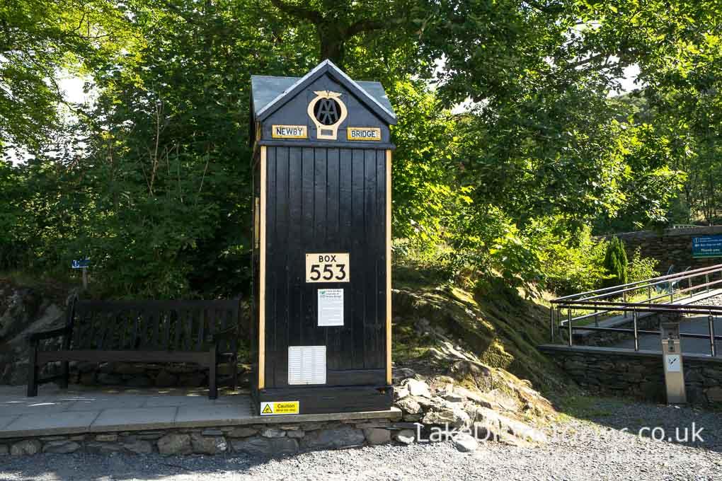 An original AA roadbox