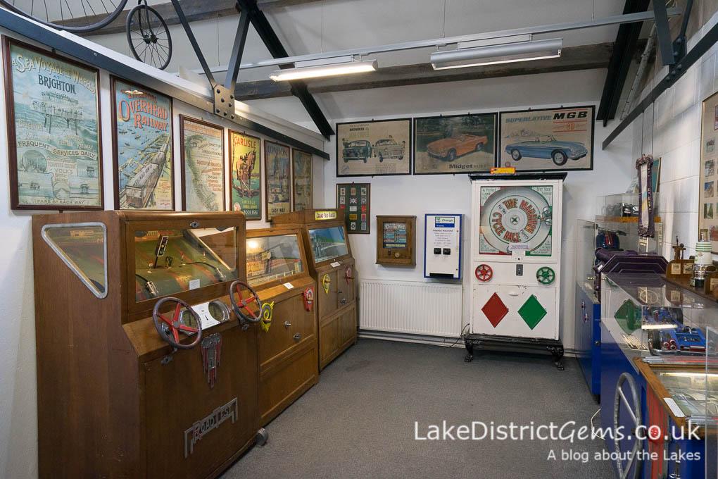 Games at the Lakeland Motor Museum